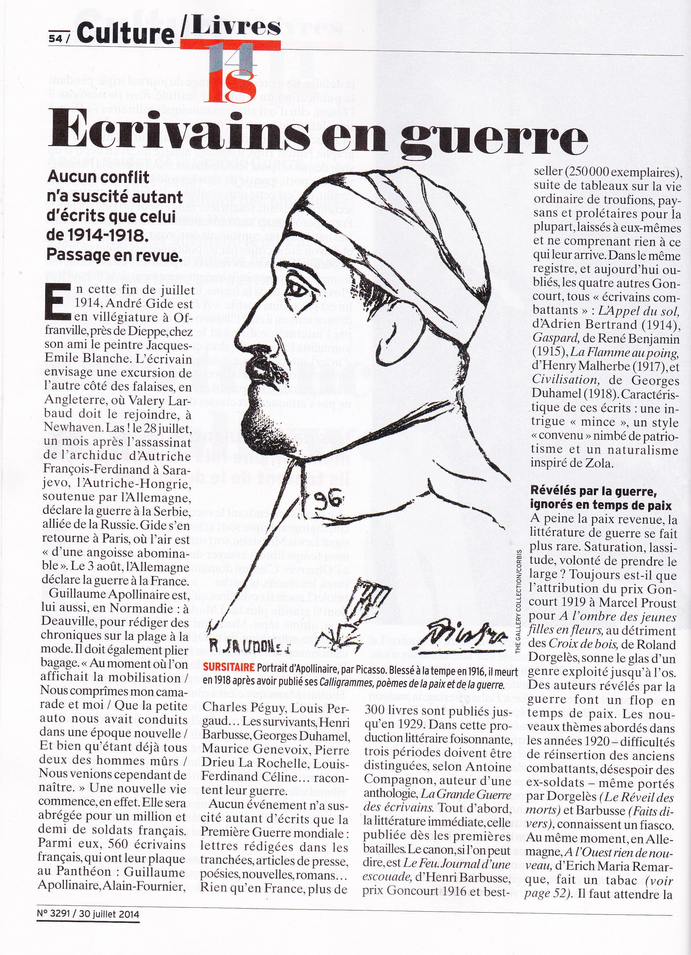 Le Poème Calligramme De Guillaume Apollinaire Son Portrait
