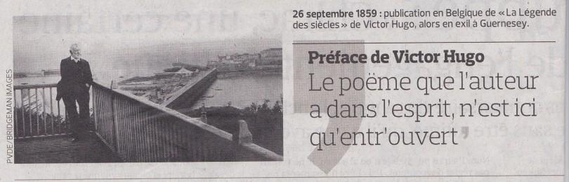 Victor Hugo citation / la Légende des Siècles